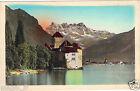 Suisse - Château de Chillon et les Dents du Midi