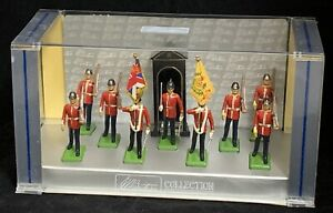 William Britain Metal Toy Soldiers The Middlesex Regiment Figures 10 Pieces NEW