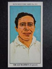 The Sun Soccercards 1978-79 - Sir Alf Ramsey - England #311