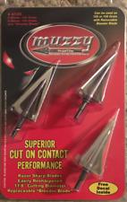 Muzzy Phantom 105 Grain or 125 Grain with Removable Bleeder Blade 3 Pack