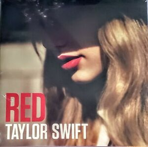 "TAYLOR SWIFT  RED - VINYL LP "" NEW , SEALED ""  2 LP SET - GATEFOLD JACKET"