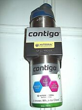Contigo Autoseal Technology Spill Proof Water Bottle 28 Hr Cold 24 oz New