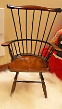 Decorative Miniature Windsor Chair Black Home Decor French Country Whimsical