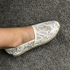 S-2020215 New Valentino Garavani Gold Espadrilles Shoes Size US 10 Marked 40