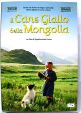 Dvd Il cane giallo della Mongolia di B. Davaa 2005 Usato raro fuori cat.
