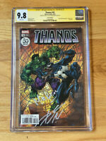 Thanos 18 30th Anniversary CGC 9.8 Signed Donny Cates/Mike Perkins