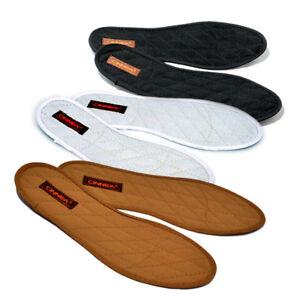 Cinnea Zimt-Einlegesohlen Zimtsohlen gegen Fußschweiß, Fußgeruch & kalte Füße