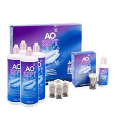 AoSept Systempack 4x360ml + AoSept Plus Reiseflasche 90ml + Linsenbehälter