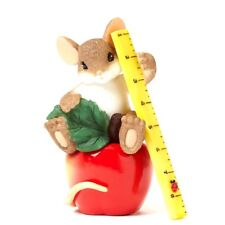 You Really Help Me Learn My Lessons Charming Tails Mouse Figurine #4042548