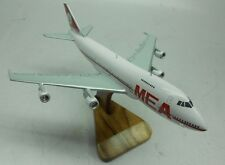 B747-200 Middle East Airlines MEA B747 Airplane Wood Model Free Shipping Regular