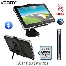 XGODY 704 7'' Bluetooth GPS Navegador del coche camión Pantalla Táctil FM 8GB ES