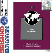 1997 Ford Mustang Shop Service Repair Manual CD Engine Drivetrain Electrical OEM