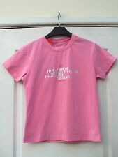 ONFIRE PINK STRETCHY I'D RATHER BE SCARED TO DEATH THAN BORED TO DEATH T-SHIRT M