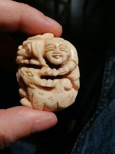 Figurine japonaise netsuke 20ieme