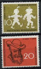 West Germany 1958 SG#1200-1 Wilhelm Busch MNH Set #D4642