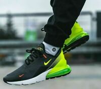 Nike Air Max 270 SE Anthracite Black Volt AQ9164-005 Running Shoe Mens Size NEW