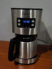 Jura Capresso 435.05 Thermal Carafe Coffee Maker ST300 10 Cup Stainless Steel NR