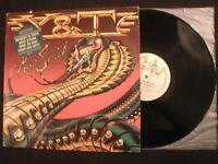 Y & T - Mean Streak - 1983 Promo Vinyl 12'' Lp/ Dave Meniketti/ Hard Rock Metal