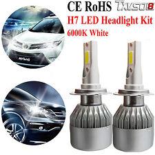 2x H7 CREE LED Phare Ampoule Voiture Feux Auto Lampe Blanc 6000K 110W 26000LM