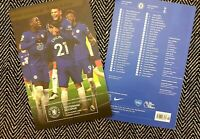 Chelsea v Tottenham Hotspur Spurs PREMIER LEAGUE Programme 29/11/20! IN STOCK!!!