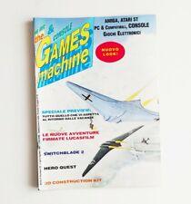The Games machine n°33 luglio/agosto 1991 rivista videogiochi