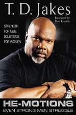 HE-MOTIONS a Hardcover book by T D Jakes td FREE SHIPPING hemotions