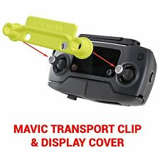 DJI Spark MAVIC PRO - Screen Cover & Transport Clip Controller YELLOW USA seller