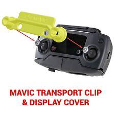 DJI MAVIC PRO - Screen Cover & Transport Clip Controller YELLOW USA seller