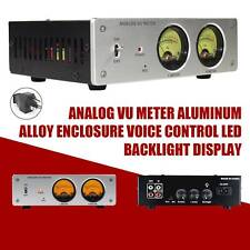 Analog Vu Meter Enclosure Amplifierspeaker Audio Switcher Box Db Panel Display