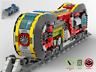 Wacko Loco Bahn - Train MOC - PDF Bauanleitung - kompatibel mit LEGO Steine