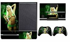 Babe 208 Vinyl Cover Skin Sticker for Xbox One & Kinect & 2 controller skins