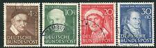 Germania - 1951 fondo aiuti umanitari Set SG 1069-72 BELLE USATO V20033