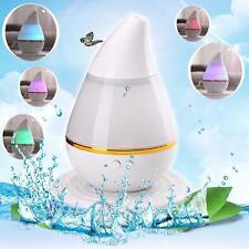 7 Colore LED USB Ultrasonic Aria Umidificatore Aroma Diffusore BK