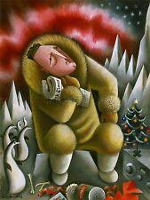 La pittura, caricature Marita Richard Byrd stampa lv3106
