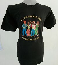 "PUTUMAYO WORLD MUSIC Maglietta T-shirt ""Celebrating 15 Years!"""