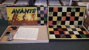 Avanté The Wonderful Fun-Filled Family Game Faynes Chicago 1967 Complete