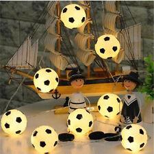 10Pcs High-Grade Football LED String Light  1.2M Baby Party Supplies PT