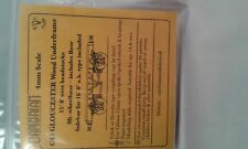 15' Gloucester Madera Bastidor Inferior Kit ( OO/HO ) - CAMBRIAN C43-F1