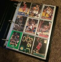 Lot Of 375 NBA Basketball Trading Cards From 1990's various players and brands