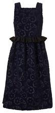 """Fabulous Orla Kiely Flower Paisley Velvet Jacquard Dress, UK8(32"""" Bust), NWT"""