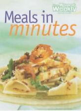 Australian Women's Weekly Meals in Minutes AWW Cookbook book 1863960694