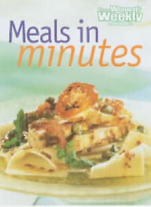 Women's Weekly  MEALS IN MINUTES ~ Over 180 Recipes ~ Vintage 1998 ~ VERY GOOD
