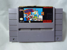 Mario Paint SNES - Cart Only - Damaged Label - Tested and Works
