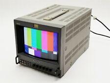 "Sony PVM-8041Q Trinitron 8"" Broadcast CRT Monochrome Video RGB Monitor"
