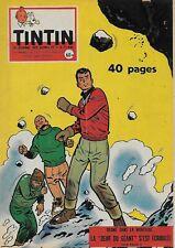 JOURNAL DE TINTIN N° 531 DEC. 1958 - COUVERTURE JARI PAR REDING
