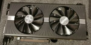 8GB Sapphire Radeon RX 590 Nitro+ / Grafikkarte / Schwarze Edition /AMD / Spiele