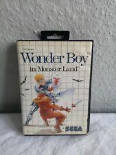 Wonder Boy in Monster Land (Sega Master System) CASE ONLY