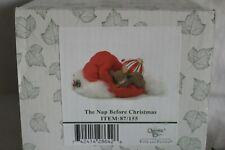 """Charming Tails """" The Nap Before Christmas """" (Dean Griff) Fitz & Floyd, Le"""