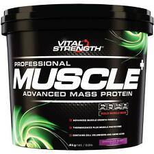 VitalStrength Professional Muscle Plus Advanced Mass protein 4Kg Chocolate