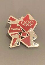Juegos Olímpicos de Londres 2012 Logo Pin Insignia Union Jack Gran Bretaña Team GB